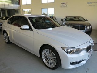 2012 BMW 3 Series F30 MY0812 328i Mineral White 8 Speed Sports Automatic Sedan.