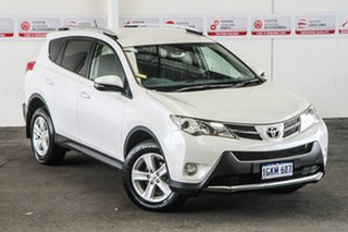 2013 Toyota RAV4 ALA49R GXL (4x4) Crystal Pearl 6 Speed Manual Wagon
