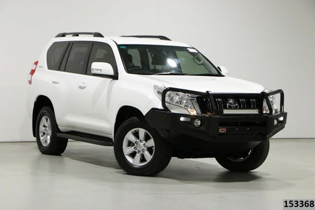 Used Toyota Landcruiser Prado GDJ150R MY16 GXL (4x4) Bentley, 2016 Toyota Landcruiser Prado GDJ150R MY16 GXL (4x4) White 6 Speed Automatic Wagon