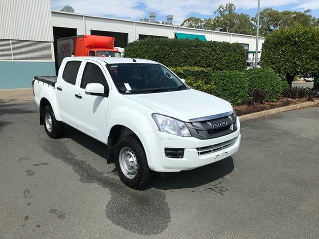 Used Isuzu D-MAX MY15.5 SX Crew Cab 4x2 High Ride Acacia Ridge, 2016 Isuzu D-MAX MY15.5 SX Crew Cab 4x2 High Ride White 5 speed Automatic Utility