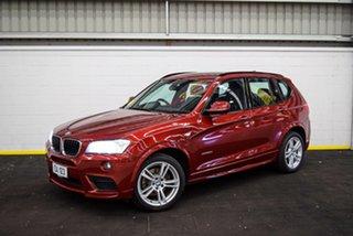 2013 BMW X3 F25 MY0413 xDrive20d Steptronic Red/Black 8 Speed Automatic Wagon.