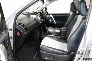 2015 Toyota Landcruiser Prado KDJ150R MY15 Altitude (4x4) Silver 5 Speed Sequential Auto Wagon