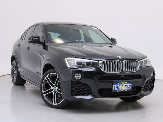 Used BMW X4 F26 MY15 xDrive 35D, 2016 BMW X4 F26 MY15 xDrive 35D Black 8 Speed Automatic Coupe