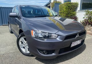 2009 Mitsubishi Lancer CJ MY09 VR Charcoal 6 Speed Constant Variable Sedan.