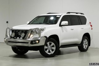 2017 Toyota Landcruiser Prado GDJ150R MY16 GXL (4x4) White 6 Speed Automatic Wagon.