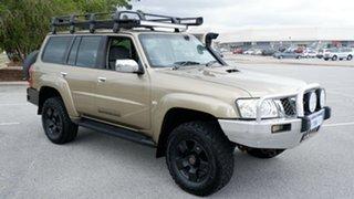 2008 Nissan Patrol GU 6 MY08 ST Gold 4 Speed Automatic Wagon.