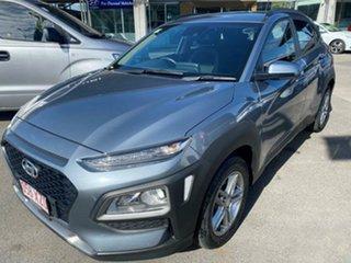 2017 Hyundai Kona OS MY18 Active D-CT AWD Lake Silver 7 Speed Sports Automatic Dual Clutch Wagon.