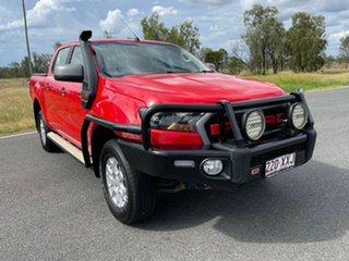 2018 Ford Ranger PX MkII 2018.00MY XLS Double Cab Race Red/e 6 Speed Sports Automatic Utility.