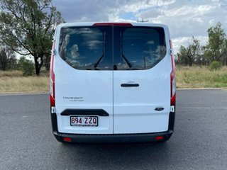 2020 Ford Transit Custom VN 2020.50MY 340L (Low Roof) Frozen White 6 Speed Automatic Double Cab Van