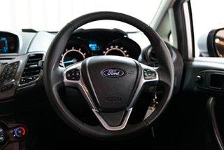 2015 Ford Fiesta WZ MY15 Ambiente PwrShift Silver 6 Speed Sports Automatic Dual Clutch Hatchback