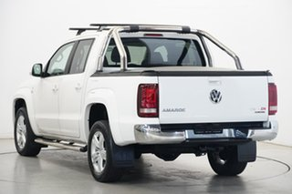 2018 Volkswagen Amarok 2H MY18 TDI550 4MOTION Perm Highline White 8 Speed Automatic Utility