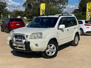 2005 Nissan X-Trail TI White Automatic Wagon.