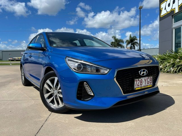 Used Hyundai i30 PD MY18 Active Townsville, 2018 Hyundai i30 PD MY18 Active Blue 6 Speed Sports Automatic Hatchback