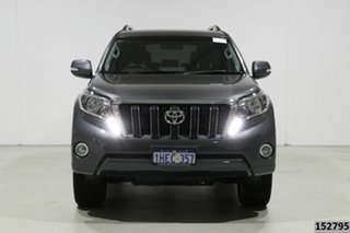 2017 Toyota Landcruiser GDJ150R Prado Altitude Spl Edt Graphite 6 Speed Automatic Wagon.