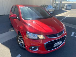 2017 Holden Barina TM MY17 LS Red/Black 5 Speed Manual Hatchback.
