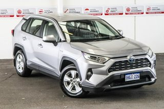 2019 Toyota RAV4 Axah54R GX eFour Silver Sky 6 Speed Constant Variable Wagon Hybrid.