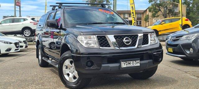 Used Nissan Navara D40 S9 Silverline SE Liverpool, 2014 Nissan Navara D40 S9 Silverline SE Black 5 Speed Automatic Utility
