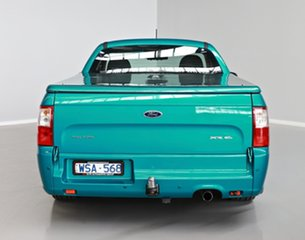 2008 Ford Falcon FG XR6 Ute Super Cab Green 5 Speed Sports Automatic Utility
