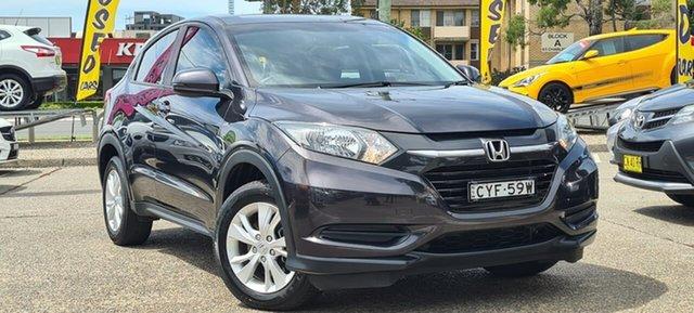 Used Honda HR-V MY15 VTi Liverpool, 2015 Honda HR-V MY15 VTi Black 1 Speed Constant Variable Hatchback