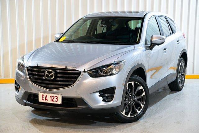 Used Mazda CX-5 KE1032 Akera SKYACTIV-Drive AWD Hendra, 2015 Mazda CX-5 KE1032 Akera SKYACTIV-Drive AWD Silver 6 Speed Sports Automatic Wagon