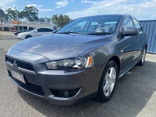 2009 Mitsubishi Lancer CJ MY09 VR Charcoal 6 Speed Constant Variable Sedan