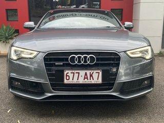 2012 Audi A5 8T MY13 Sportback S Tronic Quattro Metallic Grey 7 Speed Sports Automatic Dual Clutch