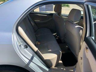 2004 Toyota Corolla ZZE122R 5Y Ascent Sport Silver 5 Speed Manual Sedan