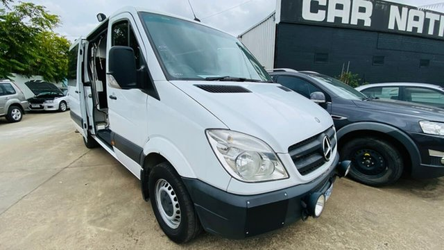 Used Mercedes-Benz Sprinter NCV3 318CDI High Roof MWB Maidstone, 2007 Mercedes-Benz Sprinter NCV3 318CDI High Roof MWB White 5 Speed Automatic Van
