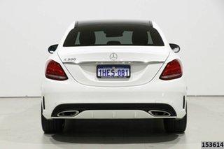 2018 Mercedes-Benz C300 205 MY18 White 9 Speed Automatic G-Tronic Sedan