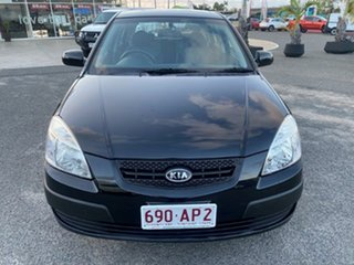 2009 Kia Rio JB MY09 LX Black 5 Speed Manual Hatchback