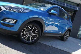 2020 Hyundai Tucson ACTIVE X Active X (2WD) Aqua Blue 6 Speed Automatic Wagon.
