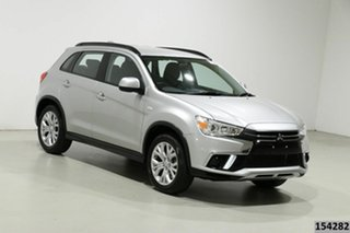 2019 Mitsubishi ASX XC MY19 ES (2WD) Silver Continuous Variable Wagon