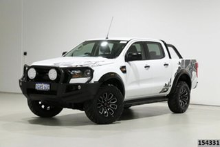 2017 Ford Ranger PX MkII MY17 XL 3.2 (4x4) White 6 Speed Manual Crew Cab Utility.