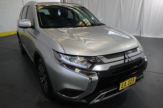 2018 Mitsubishi Outlander ZL MY19 ES AWD ADAS Silver 6 Speed Constant Variable Wagon.