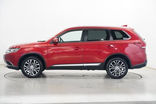 2017 Mitsubishi Outlander ZK MY17 LS 2WD Red 6 Speed Constant Variable Wagon.