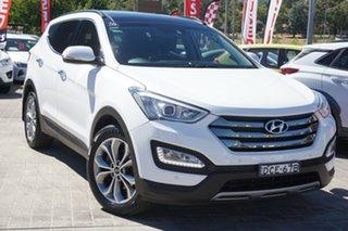 2014 Hyundai Santa Fe DM MY14 Highlander White 6 Speed Sports Automatic Wagon.