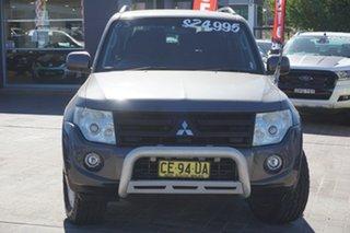 2012 Mitsubishi Pajero NW MY12 Activ Grey 5 Speed Sports Automatic Wagon.