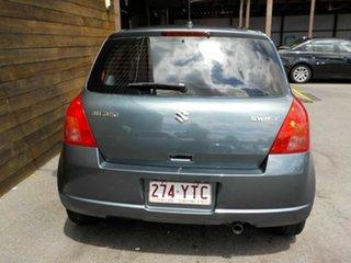 2007 Suzuki Swift RS415 GLX Silver 5 Speed Manual Hatchback