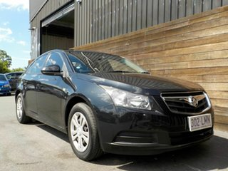 2009 Holden Cruze JG CD Black 6 Speed Sports Automatic Sedan.