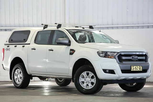 Used Ford Ranger PX MkII XLS Double Cab West Gosford, 2016 Ford Ranger PX MkII XLS Double Cab White 6 Speed Sports Automatic Utility