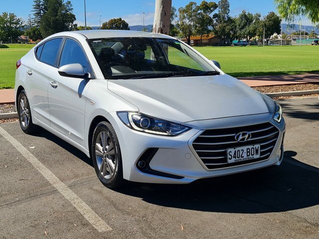 Used Hyundai Elantra MD3 Active Nailsworth, 2015 Hyundai Elantra MD3 Active Silver 6 Speed Sports Automatic Sedan