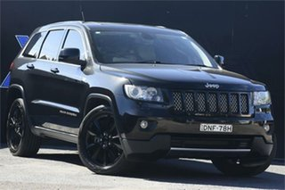 2012 Jeep Grand Cherokee WK MY2012 JET Black 5 Speed Sports Automatic Wagon.