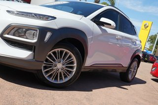 2017 Hyundai Kona OS Elite (AWD) White 7 Speed Auto Dual Clutch Wagon.