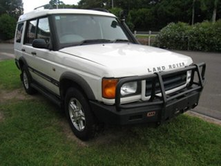2002 Land Rover Discovery Series II S (4x4) White 4 Speed Automatic Wagon