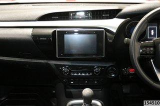 2015 Toyota Hilux GUN126R SR5 (4x4) Red 6 Speed Manual Dual Cab Utility