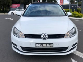 2013 Volkswagen Golf VII MY14 110TDI DSG Highline White 6 Speed Sports Automatic Dual Clutch.