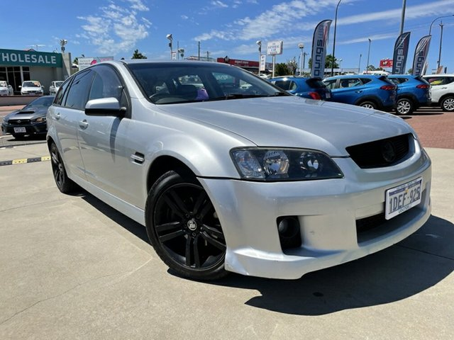 Used Holden Commodore VE MY09.5 SV6 Victoria Park, 2009 Holden Commodore VE MY09.5 SV6 Silver 5 Speed Automatic Sportswagon
