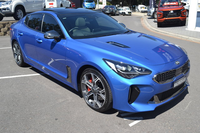 Used Kia Stinger CK MY20 GT Fastback Night Sky Edition Maitland, 2019 Kia Stinger CK MY20 GT Fastback Night Sky Edition Blue 8 Speed Sports Automatic Sedan