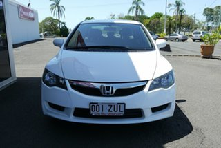 2009 Honda Civic 8th Gen MY10 VTi-L White 5 Speed Automatic Sedan