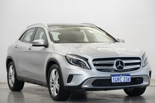 2016 Mercedes-Benz GLA-Class X156 806MY GLA200 d DCT Silver 7 Speed Sports Automatic Dual Clutch
